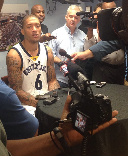 Michael Beasley had some interesting things to say at Media Day.