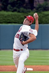 ALLISON RHOADES - Michael Wacha debuted with the Cardinals less than a year after his final college game.