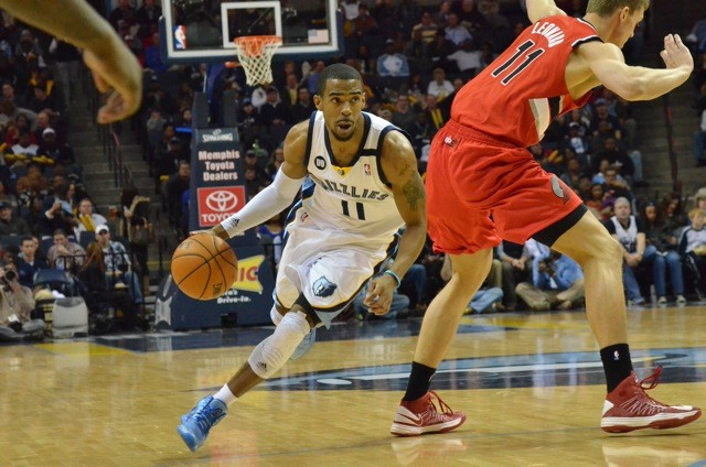 Mike Conley and the Griz finally found a groove in the second half.