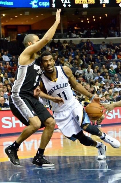 Mike Conley and Tony Parker are two elite point guards with similar games.