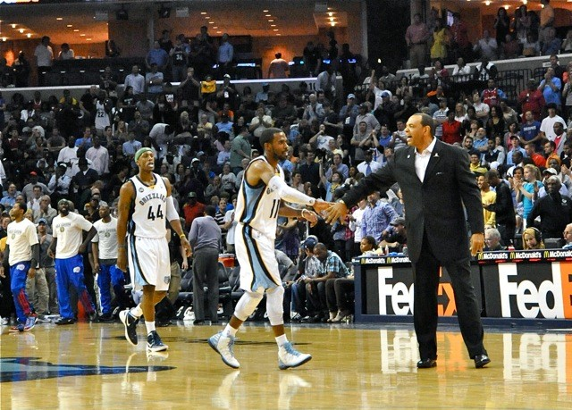 Mike Conley made game-sealing plays in the final minute. Lionel Hollins looked relaxed sans tie.