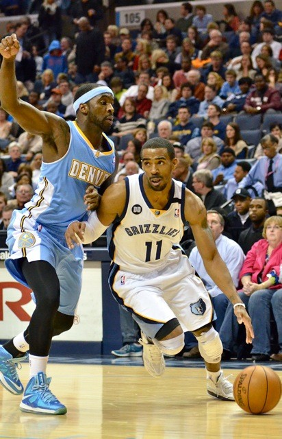 Mike Conley struggled with his shot, but took care of the ball while playing sick.