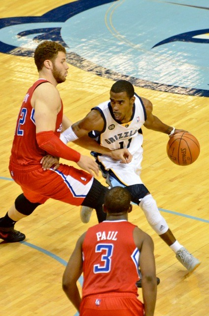 Mike Conley will have his hands full with Chris Paul and the Clippers.
