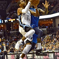 Mike Conley's trouble finishing at the rim was just one component of his December struggles.