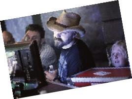 Mike McCarthy, director Craig Brewer, and Keller Lambert - BY JUSTIN FOX BURKS
