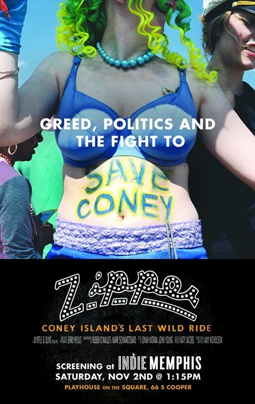 Movie poster for Zipper: Coney Islands Last Wild Ride