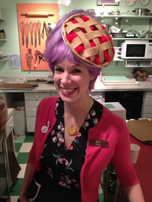 Muddys Bake Shop Owner, Kat Gordon.
