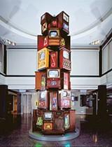 IMAGE COURTESY OF THE MEMPHIS BROOKS MUSEUM OF ART - Nam June Paik's Vide-O-belisk