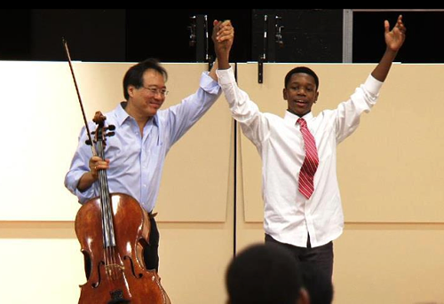 New Ballet meets Yo-Yo Ma