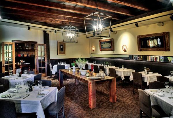 Newly remodeled Napa Café - JUSTIN FOX BURKS
