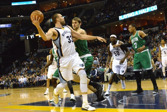 Marc Gasol scored 32 points and still looked like he could've done more than he did. Which is a good problem to have. - LARRY KUZNIEWSKI