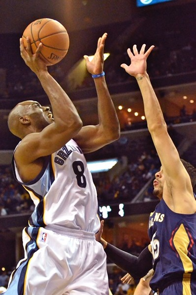 Quincy Pondexter is one of the Grizzlies' bench players who has had trouble getting going this season. - LARRY KUZNIEWSKI