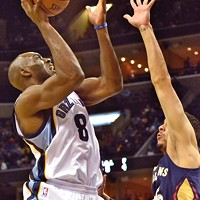 Quincy Pondexter is one of the Grizzlies' bench players who has had trouble getting going this season.