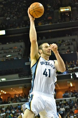 The curious disappearance of Kosta Koufos is one of the bigger questions surrounding the Grizzlies right now. - LARRY KUZNIEWSKI