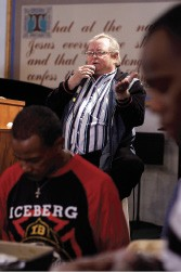 Jeff Patrick, pastor of the Union Mission on Poplar - BY JUSTIN FOX BURKS