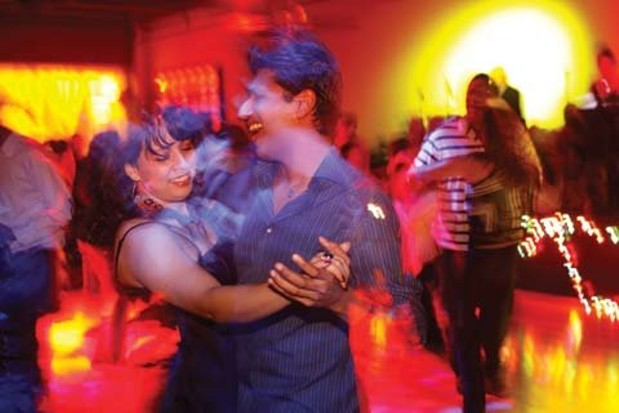 Not Dancing With The Salsa Stars At The Rumba Room City