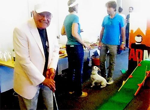 octobenarian golfer John Malmo