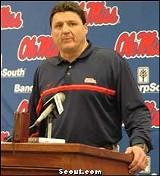 Ole Miss Coach Ed Orgeron
