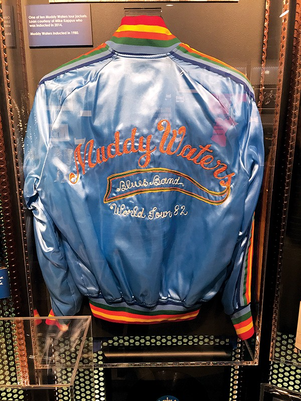 One of ten tour jackets left from the Muddy Waters 1982 World Tour.