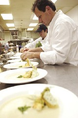 JUSTIN FOX BURKS - Owner Jeff Dunham of the Grove Grill brings back the chef's table.