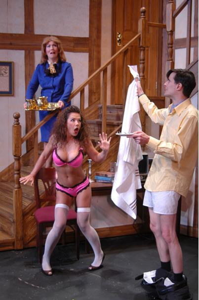 Pants down, knickers up, NOISES OFF