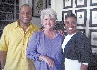 Patrick Neely, Paula Deen, and Gina Neely