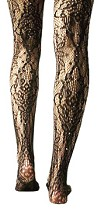 Patterned tights from Sachi