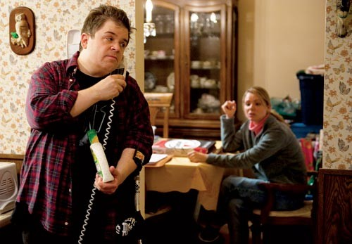 Patton Oswalt and Collette Wolfe