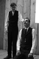 Paul Dano and Daniel Day-Lewis
