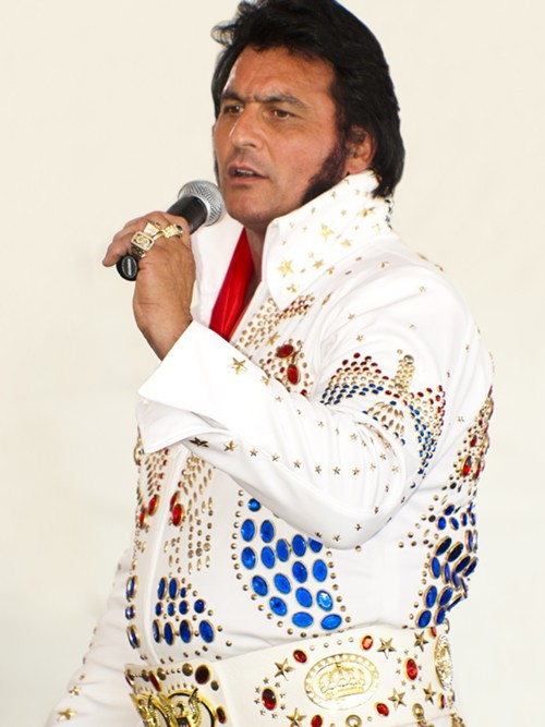 Pete Big Elvis Vallee impersonator Reggie Sugarbaker