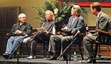 JACKSON BAKER - Peter Guralnick, Knox Phillip, Mike Curb, and Rhodes professor John Bass