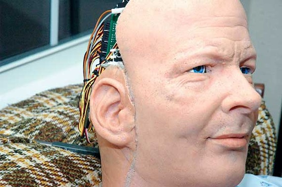 Philip K. Dick as an Android