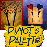 Pinot's Palette: February is for love! Special Valentine's package includes 2 seats for painting, souvenir wine glasses, light hors d'oeuvres, and a box of chocolate.5040 Sanderlin, 901-761-0012