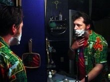Posting while shaving: Always a bad idea