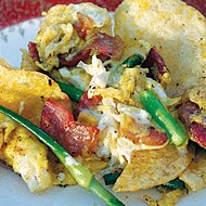Potato Chip Scrambled Eggs