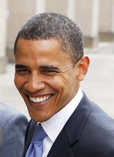 President Obama - MARKWATERS | DREAMSTIME.COM