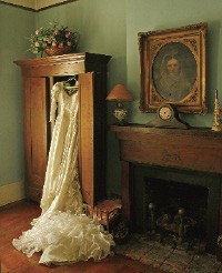 Priscilla's ghost is said to pull the sheets off guests as they sleep in this room, built in 1849. - JUSTIN FOX BURKS