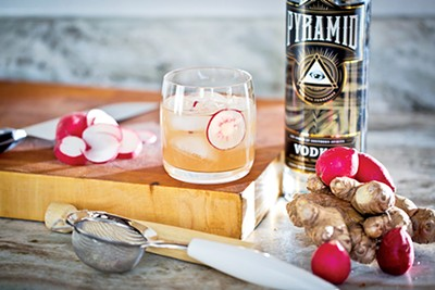 Pyramid Vodka: robust and smooth - JUSTIN FOX BURKS