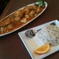 Rainbow Panang Curry at Mosa