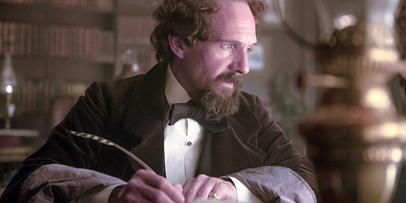 Ralph Fiennes as Charles Dickens