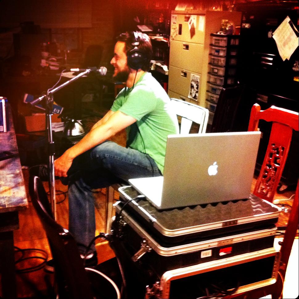 Rawlings at NTSH studios