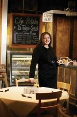 JUSTIN FOX BURKS - Rebekah Vaughn at Caf Palladio