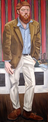 Red Grooms' Portrait Of Paul Suttman - COURTESY RED GROOMS / ARTISTS RIGHTS SOCIETY (ARS)