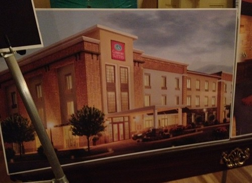 Rendering of what French Quarter Inn may look like as Comfort Suites