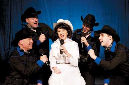 Renee Kemper as Patsy Cline at Playhouse on the Square