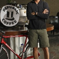 Republic Coffee owner Chris Conner
