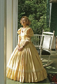 Resident Elaine Cox has furnished Magnolia Manor with antebellum antiques. - JUSTIN FOX BURKS