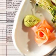 Reusable Sushi Menu at Sekisui Midtown