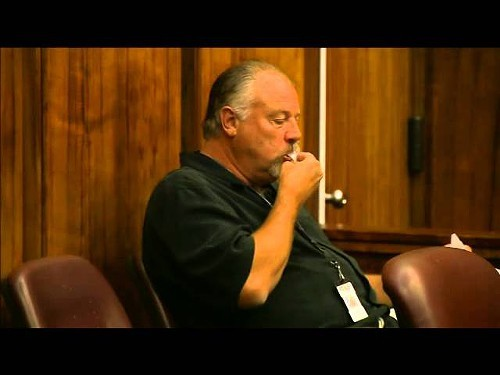 Richard Masten, Miami-Dade County Crime Stoppers director, eats tipsters information in court