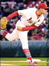 Rick Ankiel in his pitching days.